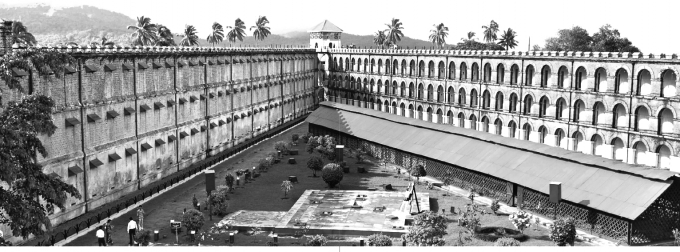 The Cellular Jail or Kalapani (Pic: emuseum)