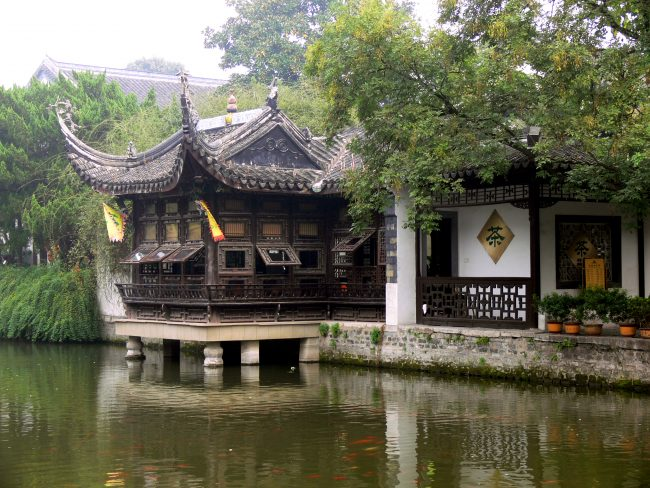 A traditional tea house in Nanjing, China - Courtesy www.wikiwand.com