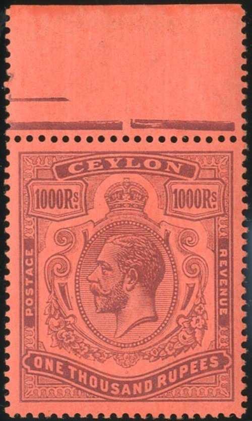 Treasured Stamps From Colonial Ceylon