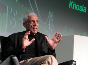 Legendary VC and co-founder of Sun Microsystems, Vinod Khosla at TechCrunch Disrupt SF. Image credit: TechCrunch