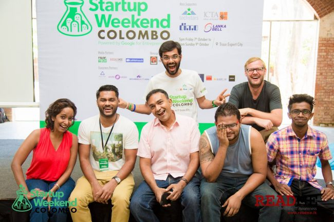 The organizing team of Startup Weekend. Picture Courtesy: ReadMe