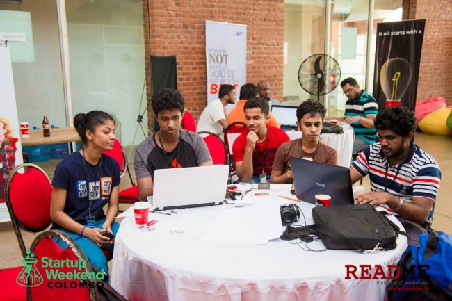 Participants gathered in teams. Picture Courtesy: ReadMe