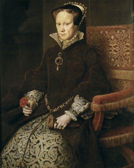 Queen Mary I of England and Ireland. (Pic: )