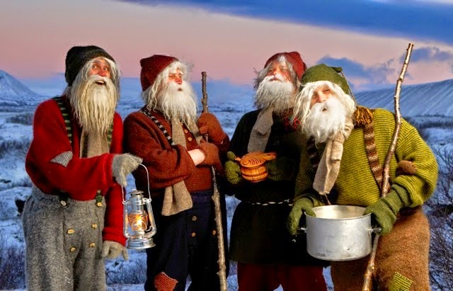 Yule Lads live in Iceland