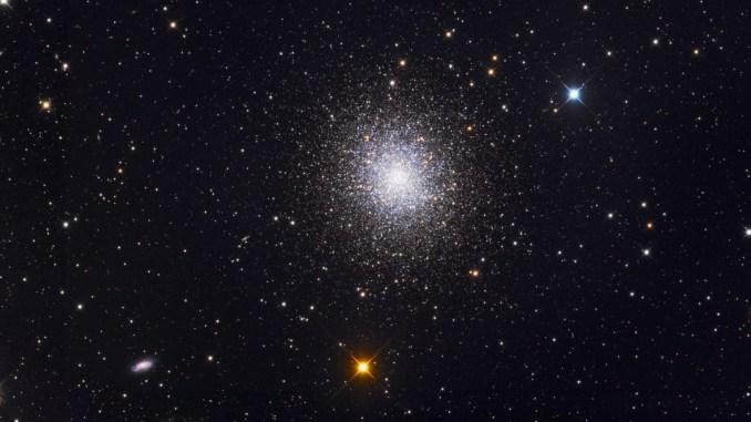 নক্ষত্রপুঞ্জ মেসিয়ার ১৩; Image Source: Roth Ritter /astronomytrek.com